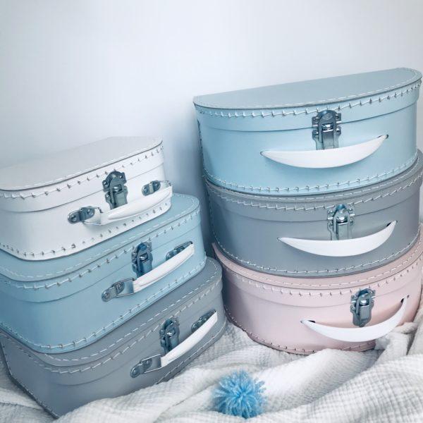 Dětský kufřík Kazeto - Kufříky Kazeto v základních barvách - pro holčičku, chlapečka a neutrální.